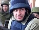 Михаил Пореченков на боевых позициях ополченцев в донецком аэропорту