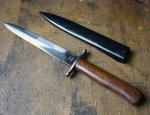 Боевой нож вермахта Nahrkampfmesser времен Второй мировой войны