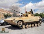 В Сирии БМП-2 разнесет вдребезги любой автомобиль смертников