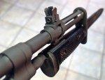 Американский штатный штык-нож M6 к самозарядной винтовке М14