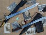 Баварский саперный штык-тесак к винтовке Маузера образца 1871