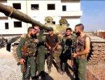Сирийские войска получили мощные подкрепления в Алеппо