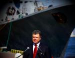 Порошенко: «Флот Украины уничтожит флот России»