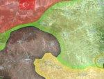Курды вступили в бой с исламистами и потеснили их южнее Джарабулуса