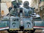 В Сирии замечена интересная модификация танка Т-55