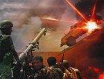 Гори броневик «Дидгори»! Грузинский позор в йеменской войне попал на видео