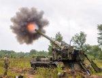 ВСУ обстреливают Донбасс из самоходных артустановок «Пион»