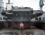 Новейший американский авианосец объявлен непригодным для войны