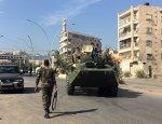 Сирийская армия перешла в наступление на юге Алеппо