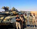 «Ястребы пустыни» вооружились танками Т-90 перед наступлением на Алеппо
