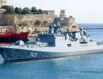Фрегат «Адмирал Григорович» на Мальте