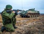 Учения в российской армии проходят на земле, в небесах и на море