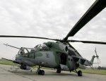Российские военные отрабатывают полёты вертолетов в горах Армении