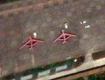 На спутниковых снимках замечены неизвестные китайские летательные аппараты