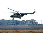 В Сирии рухнул военный вертолёт