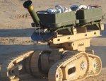 Робот сапер  Warrior 710  проделывает проходы в минных полях