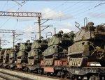 Вторжение в Крым: Украина подтянула к границе 10 эшелонов военной техники