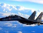 Российский Су-35 впервые нанёс удар по боевикам в Сирии