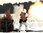 Лыжники с автоматами: кадры учения горных стрелков в Тыве