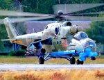 Ми-24 сгорели на сирийской базе