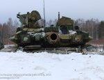 Танки Т-90 в подразделении Вооруженных сил России - фотообзор