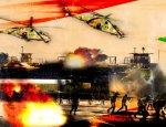 Сирийские вертолеты безжалостно накрыли оплоты боевиков у Дамаска