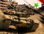 Сирийцы засняли танковый натиск Т-90 и Т-64 во время штурма в Алеппо