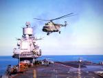 Вертолеты с «Адмирала Кузнецова» показали всю свою мощь