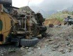 Потери турецкой армии: броневик Kirpi разорвало в клочья