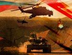 Русские вертолеты прикрыли танки Асада у гор Пальмиры