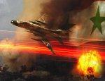 Авиация Асада разнесла оружейный склад боевиков в Хомсе