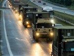 В Чехии пытались остановить колонну НАТО голыми ягодицами