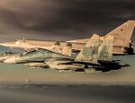 Русская авиация разбомбила подкрепление боевиков в Алеппо