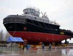 В Петербурге спустили на воду спасательное буксирное судно «СБ-737»