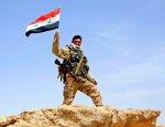 Флаг Сирии поднят над оплотом боевиков в Западной Гуте