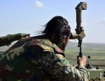 Сирийцы засняли серию ракетных ударов с ПТРК «Малютка» по боевикам