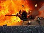 Смертельный удар сирийской армии: догорает колонна военной техники боевиков