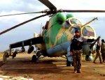 Сирийские Ми-24 стали бомбардировщиками: эффектные удары «Крокодилов»