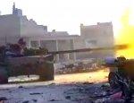 Убойный дуэт: Т-72 под прикрытием снайперов с СВД разбил боевиков в Алеппо