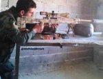 Сирийский спецназ использует элитные высокоточные снайперские винтовки