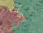 Сирийская армия атаковала два района на северо-востоке Алеппо