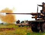 Сирийская армия ведет артподготовку на юге Алеппо перед наступлением
