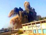 Сирийская Армия взорвала к чертям туннель в Харасте вместе в боевиками
