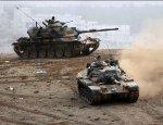 Турецкие танки прорываются к Алеппо