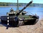 Военнослужащие РФ впервые преодолели водные преграды на танках Т-72Б3