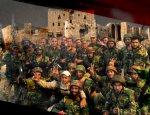 Главный отряд спецназа Асада зачищает районы у крепости Алеппо