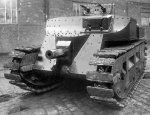 Предыстория создания французского тяжелого танка Char B