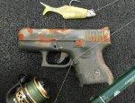 Необычный улов рыбака, или как выудить пистолет Glock