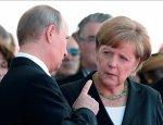 Bloomberg: Путин пугает Меркель своей армией