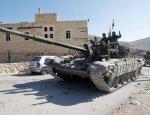 Генерал-майор САА пошёл в атаку вместе со своими бойцами в Алеппо
